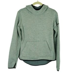 Nike Gray Thermal Hooded Pullover Sweatshirt Small